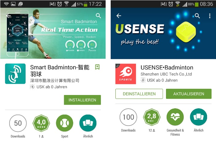 Badminton Apps